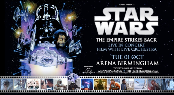 Image for STAR WARS EMPIRE STRIKES BACK WITH LIVE ORCHESTRA