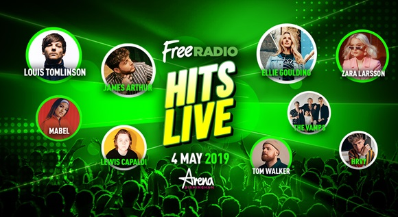Image for FREE RADIO HITS LIVE 2019
