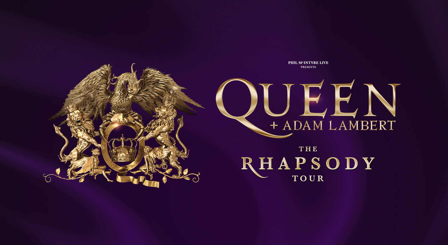 Queen with Adam Lambert at the Birmingham Arena